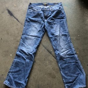 lucky brand size 10/30 low rise jeans